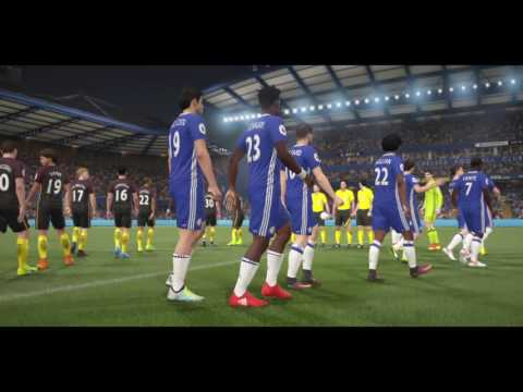 FIFA 17 GAMEPLAY CHELSEA vs MANCHESTER CITY (DEMO)