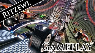 TrackMania Nations Forever Gameplay PC HD - No Commentary