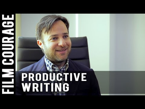 How I Am Most Productive As A Screenwriter by Danny Strong