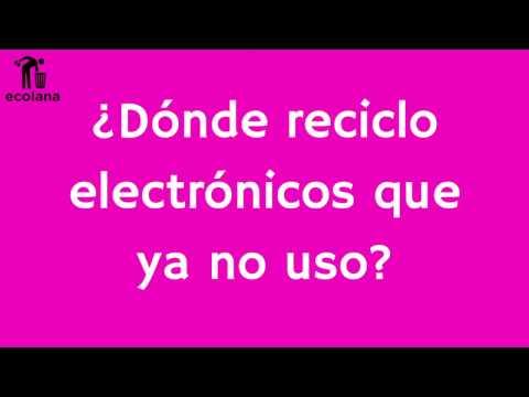 Ecolana: Mercado de Trueque Electrónicos