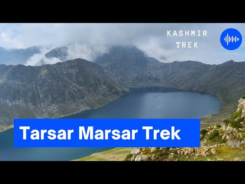 Kashmir Trek | Tarsar Marsar Trek | heaven on earth | trekking in Srinagar | gadsar lake