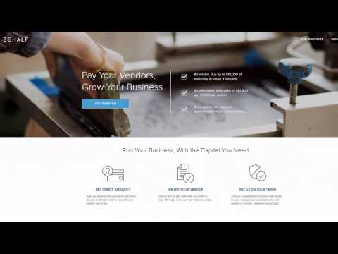 Behalf.com Review by Direct Business Lending