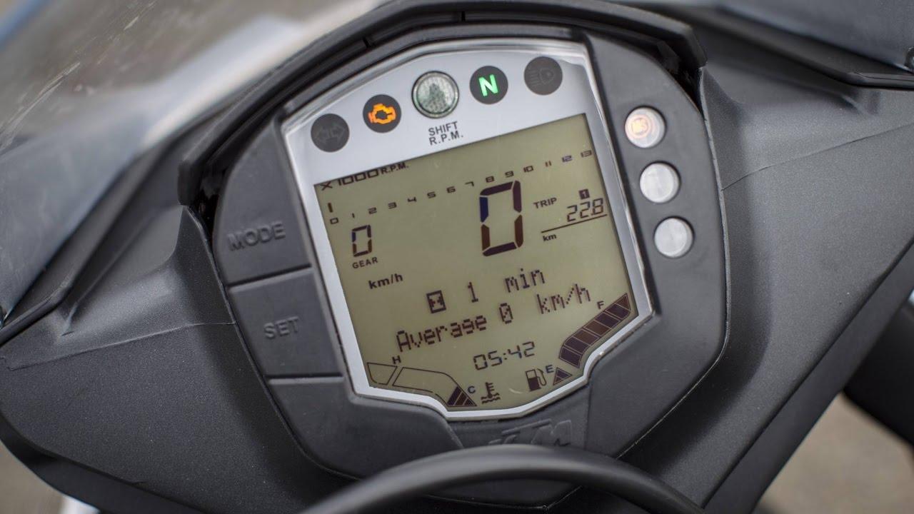 KTM RC200 top speed