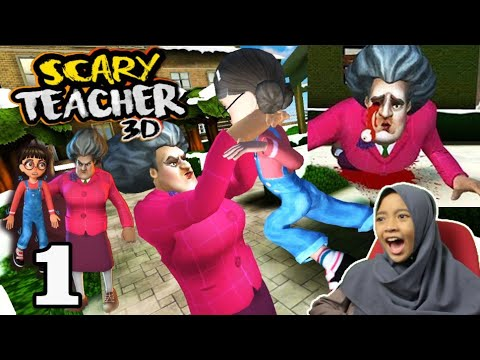 Ngeprank Ibu T | Scary Teacher 3D Game Android Kocak Lucu Seru