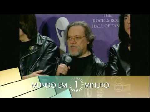 Morte de Tommy Ramone 2014 - The Ramones - Jornal Hoje