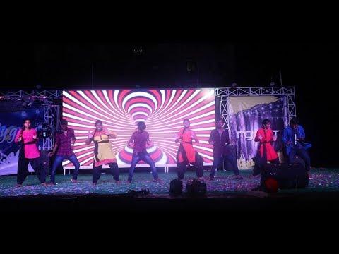 Jigelu Rani BEST Performance - Rangasthalam - E4 Students Dance   Upload by BHaskar VJ  