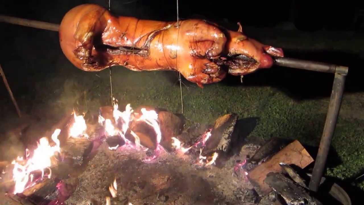 Pig Roast - YouTube