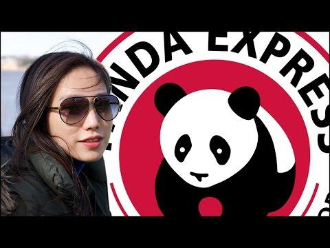 Chinese Girl eats PANDA EXPRESS!