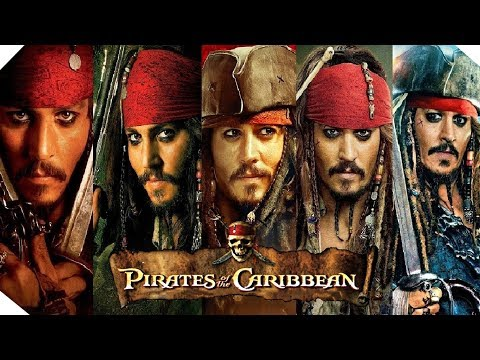 All Pirates of the Caribbean Saga Trailers 2003  2017