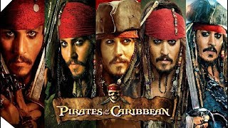 All Pirates of the Caribbean Saga Trailers (2003 - 2017)
