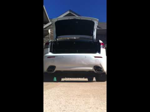 Repeat Lexus ISF with sikkyheaders+Joez intake + Pts exhaust