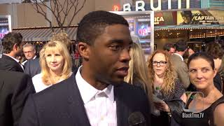 BLACK PANTHER - The first time it was revealed that Chadwick Boseman was cast to be BLACK PANTHER