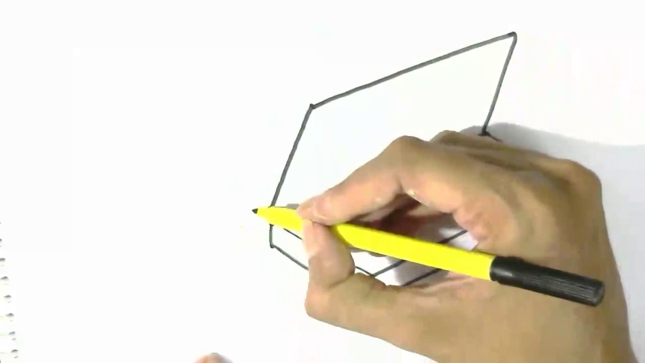 How to draw pencil box in easy steps for children beginners