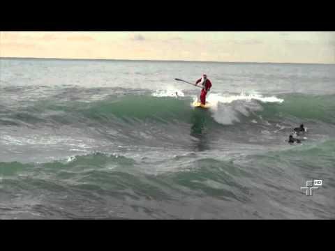 Papel Noel Surfista Na Itália - 21/11/2014