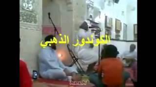 Ваххабитский Шейх проклинает Башара Асада а затем падает