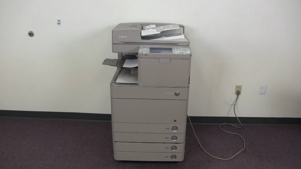 Canon imageRUNNER ADVANCE C7055 MFP PCL5e/PCL5c Drivers for Windows 7