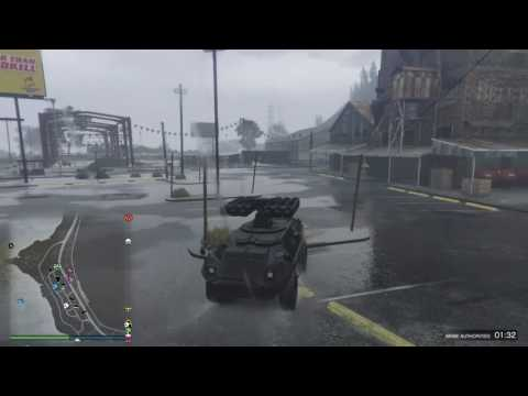 Grand Theft Auto APC VS Insurgent VS Tampa