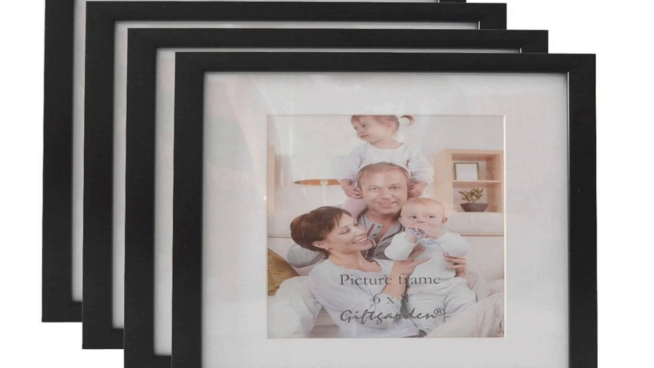 Giftgarden 10 x 8 Multi Picture Photo Frame 10x8 Synthetic Wood ...