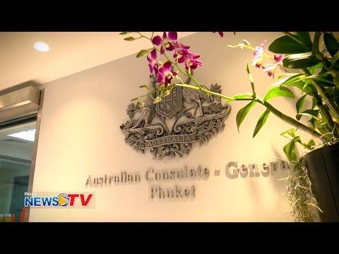 """Opening """"Australian Consulate General Phuket"""""""