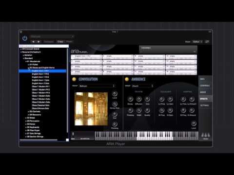 Garritan Personal Orchestra 5 - Walkthrough