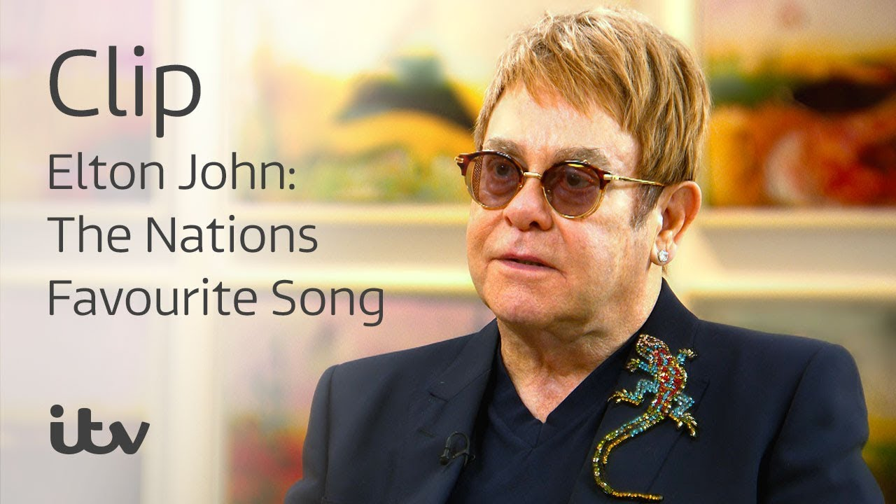 Your Song' Named the UK's Favourite Elton Song - Elton John