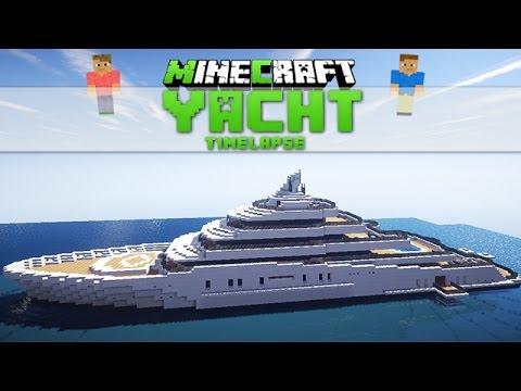 Minecraft Yacht 3 Roman Abramowitsch S Yacht Timelapse Download