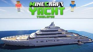 Minecraft Yacht ▼3 -  Roman Abramowitsch's Yacht - Timelapse [Download]