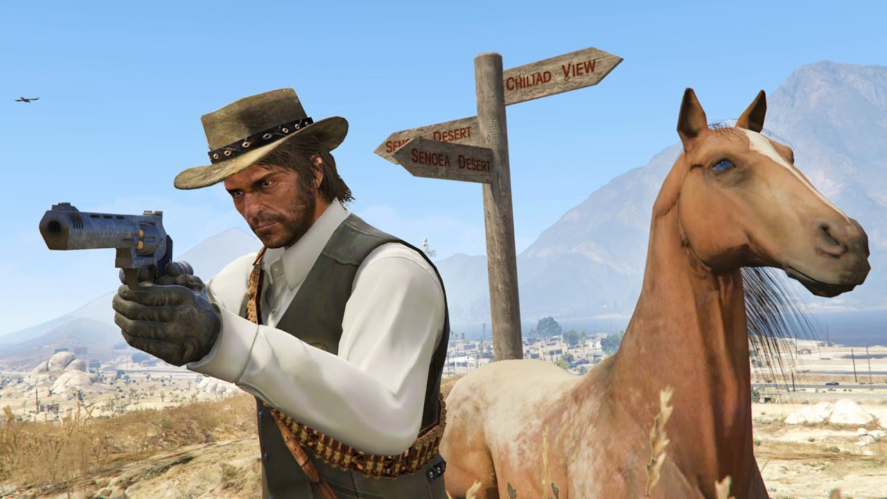 GTA V Red Dead Redemption, Video Games - Vgcs