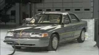2003-2010 Ford Crown Victoria - IIHS Crash Tests