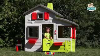 310209 Detský domček Priateľov Smoby