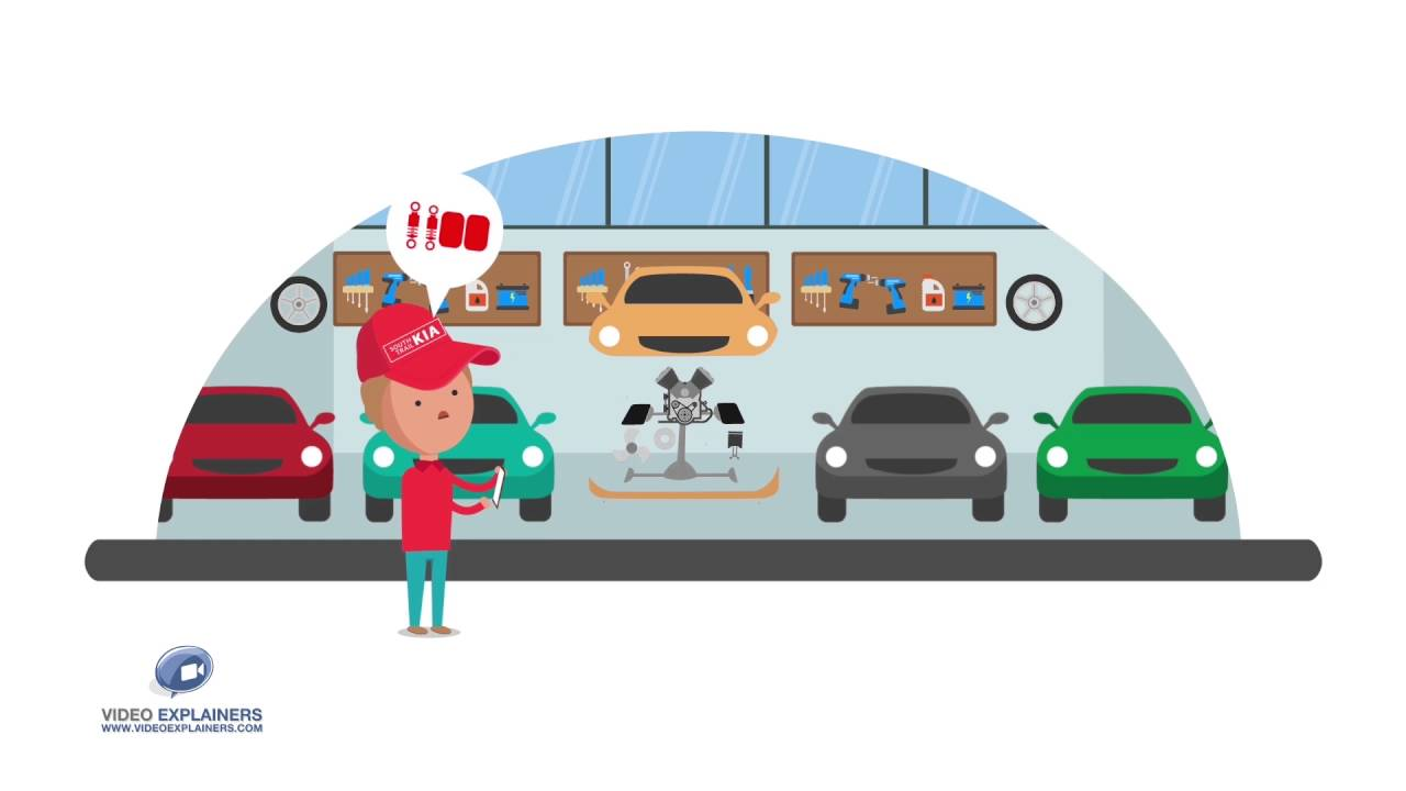 2D Cartoon Animation - Auto Loan By Video Explainers - YouTube