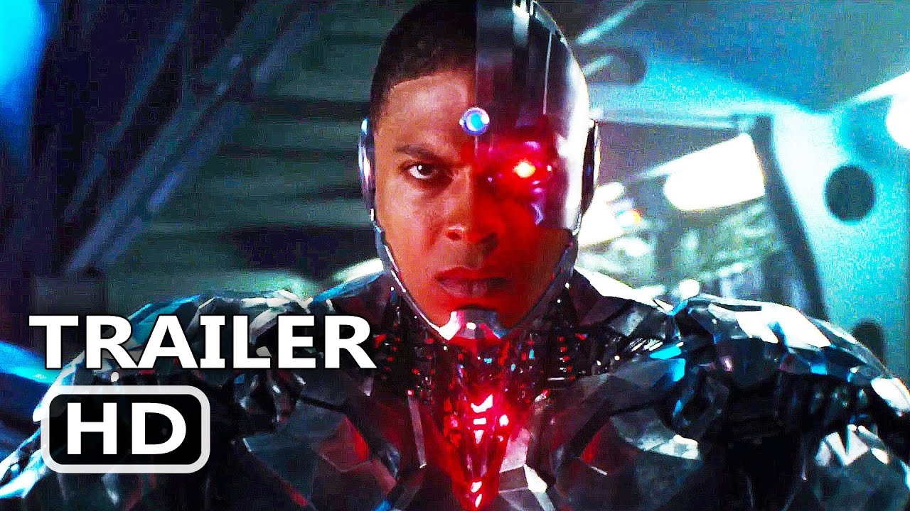 Movie Poster 2019: JUSTICE LEAGUE Official Trailer # 2 Cyborg TEASER (2017