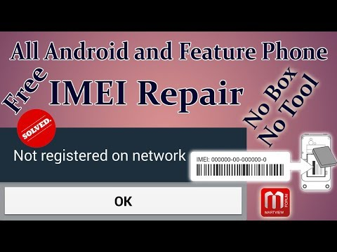 Android And Feature Phone IMEI Repair Without Any Software