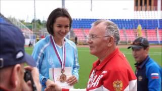 2 день ЧР по легкой атлетике среди слепых в Саранске. 25.06.17