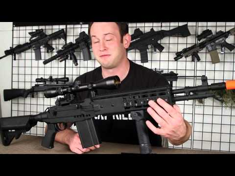 Airsoft GI - CYMA CM032 M14 EBR Enhanced Battle Rifle DMR AEG