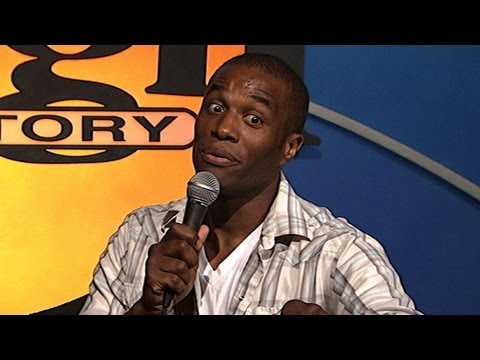 Chris James Black British Accent Stand Up Comedy