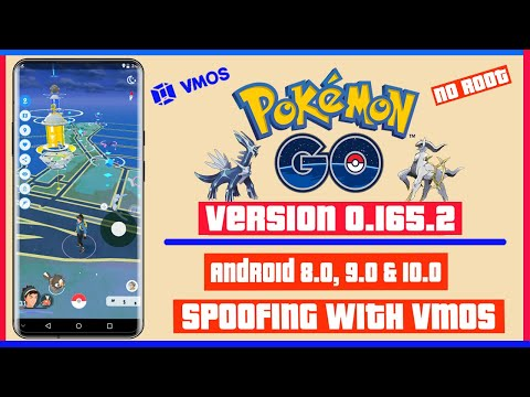 Pokemon Go Spoofing 0.165.2 | VMOS Spoofing | Android 10 | No Root