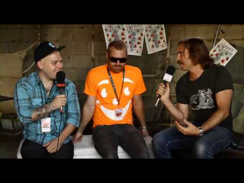 THE BRONX - Groovin The Moo 2013 Interview BPMTV