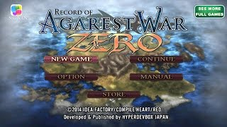 Record of Agarest War Zero IOS / Android IGV