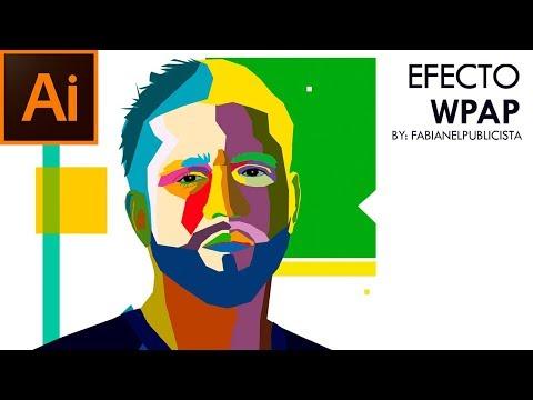 EFECTO WPAP| Illustrator| TUTORIAL #67 | Español thumbnail