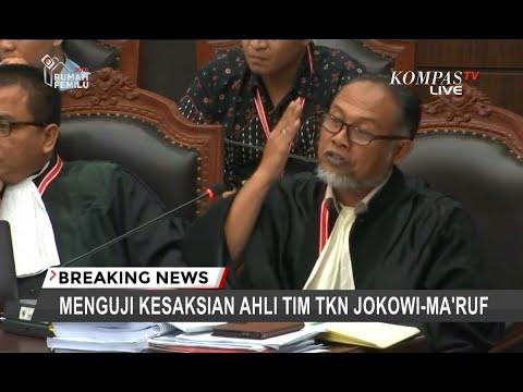 "Ketika Bambang Widjojanto Pertanyakan Kapasitas ""Sobat"" Ahli Tim TKN Jokowi-Ma'ruf di MK"