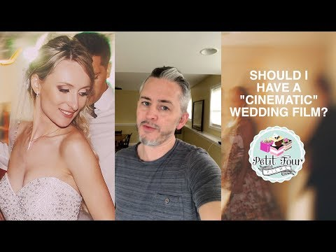Top 5 Reasons Why You Don't Want a Purely Cinematic Wedding Video!