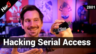 Hacking the Bash Bunny for Serial Access - Hak5 2801