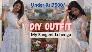 Outfit from Scratch || DÏY Lehenga || How to DIY Outfit || P.Y