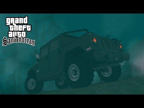 GTA SA Mods: Slender Shady's Creek & Smokin Smoke #4 (German) (HD)