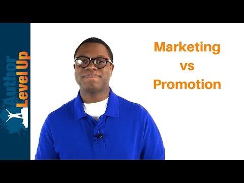 Marketing vs Promotion