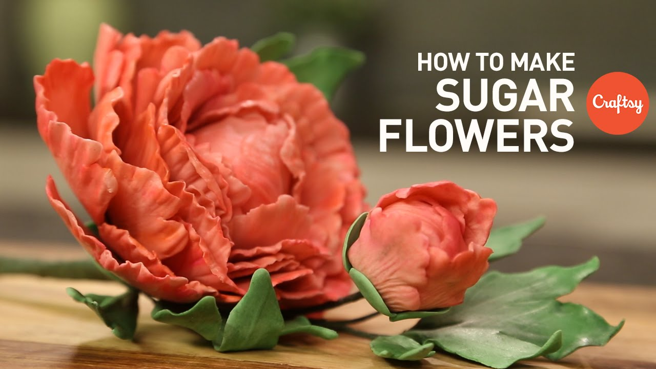 How to make sugar flowers for cakes gumpaste cake decorating how to make sugar flowers for cakes gumpaste cake decorating tutorial youtube izmirmasajfo