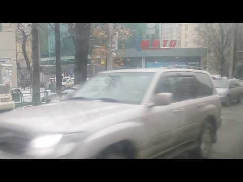 Bishkek, capital city of kyrgyz republic, in winter