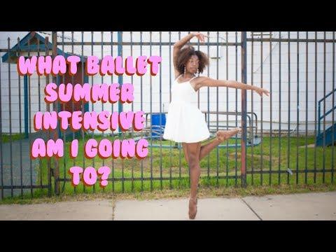 What Ballet Summer Intensive Am I Going To!? Announcement 2018    Life As Gabi♡♡♡