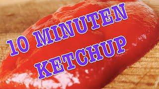 BESTER KETCHUP in 10 MINUTEN selbst kochen --- Klaus grillt